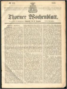 Thorner Wochenblatt 1858, No. 102 + dod. reklamowy