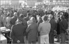 Wmurowanie Aktu erekcyjnego pod budowę SP nr 5 w Brodnicy