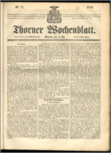 Thorner Wochenblatt 1859, No. 35
