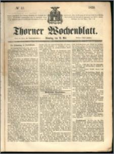 Thorner Wochenblatt 1859, No. 43