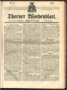 Thorner Wochenblatt 1859, No. 79