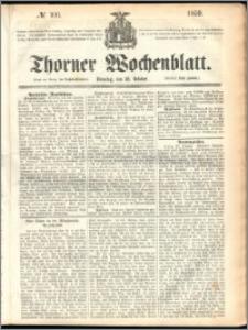 Thorner Wochenblatt 1859, No. 106