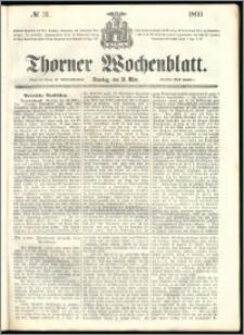 Thorner Wochenblatt 1860, No. 31