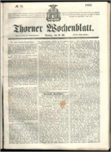 Thorner Wochenblatt 1860, No. 81