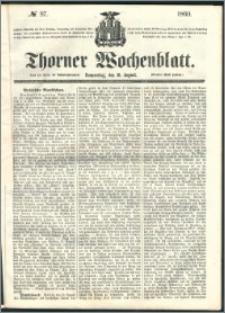 Thorner Wochenblatt 1860, No. 97