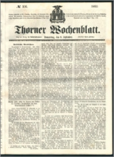 Thorner Wochenblatt 1860, No. 106