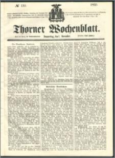Thorner Wochenblatt 1860, No. 130
