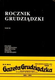 Rocznik Grudziądzki T.11