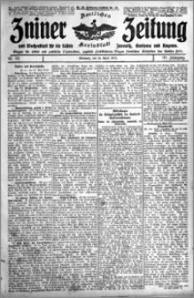 Zniner Zeitung 1917.04.25 R. 30 nr 33
