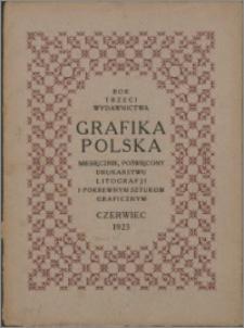 Grafika Polska 1923, R. 3 z. 6