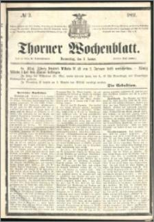 Thorner Wochenblatt 1861, No. 2