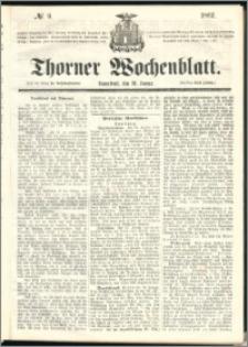 Thorner Wochenblatt 1861, No. 9