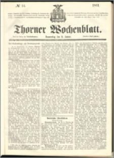 Thorner Wochenblatt 1861, No. 14