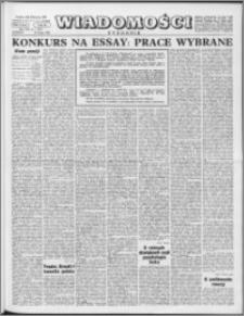 Wiadomości, R. 19 nr 7 (933), 1964