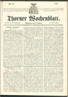 Thorner Wochenblatt 1861, No. 23