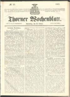 Thorner Wochenblatt 1861, No. 26
