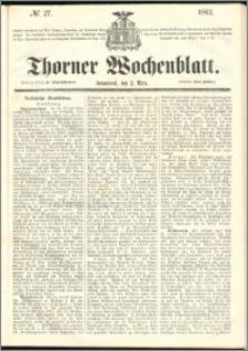 Thorner Wochenblatt 1861, No. 27