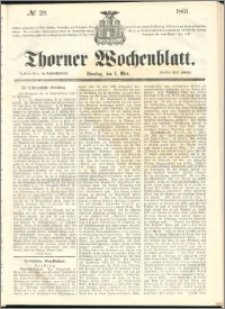 Thorner Wochenblatt 1861, No. 28