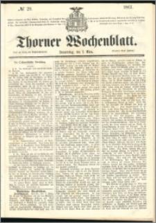 Thorner Wochenblatt 1861, No. 29