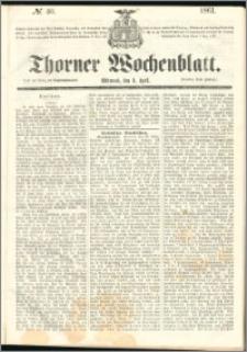 Thorner Wochenblatt 1861, No. 40