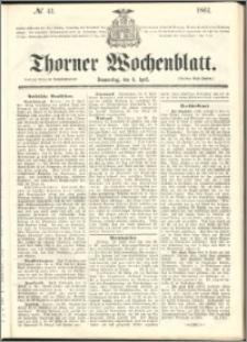 Thorner Wochenblatt 1861, No. 41