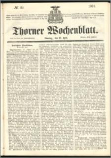 Thorner Wochenblatt 1861, No. 49