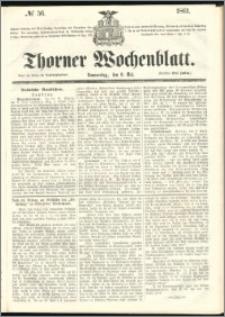 Thorner Wochenblatt 1861, No. 56