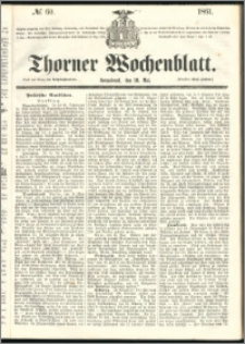 Thorner Wochenblatt 1861, No. 60