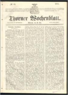 Thorner Wochenblatt 1861, No. 61