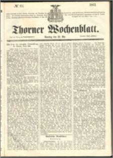 Thorner Wochenblatt 1861, No. 63