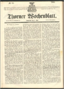 Thorner Wochenblatt 1861, No. 65