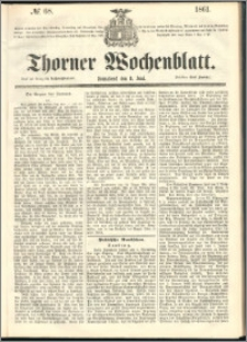 Thorner Wochenblatt 1861, No. 68