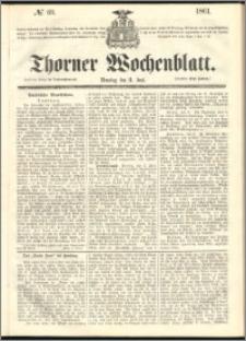 Thorner Wochenblatt 1861, No. 69