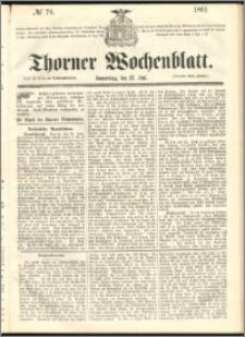 Thorner Wochenblatt 1861, No. 76