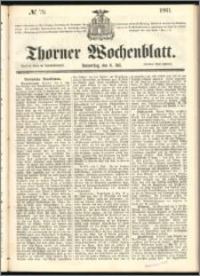 Thorner Wochenblatt 1861, No. 79