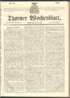 Thorner Wochenblatt 1861, No. 82