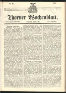 Thorner Wochenblatt 1861, No. 83