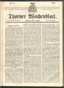 Thorner Wochenblatt 1861, No. 91