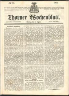 Thorner Wochenblatt 1861, No. 93 + Extra Beilage