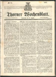 Thorner Wochenblatt 1861, No. 95
