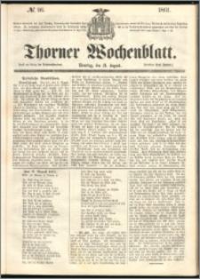 Thorner Wochenblatt 1861, No. 96