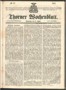 Thorner Wochenblatt 1861, No. 97