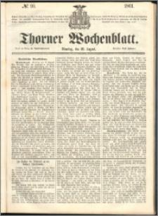 Thorner Wochenblatt 1861, No. 99