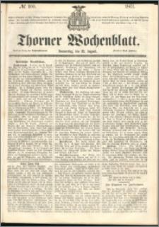 Thorner Wochenblatt 1861, No. 100