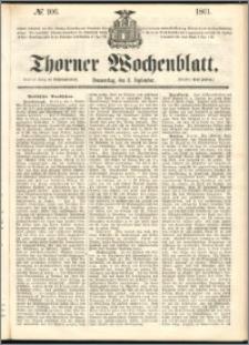 Thorner Wochenblatt 1861, No. 106