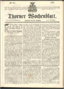 Thorner Wochenblatt 1861, No. 116