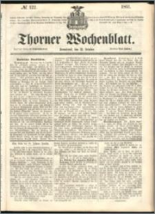 Thorner Wochenblatt 1861, No. 122