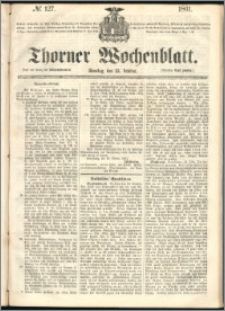 Thorner Wochenblatt 1861, No. 127