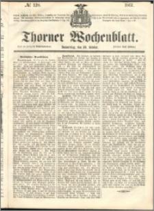 Thorner Wochenblatt 1861, No. 128 + Beilage