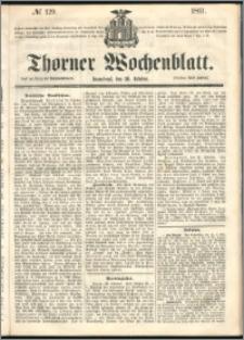 Thorner Wochenblatt 1861, No. 129